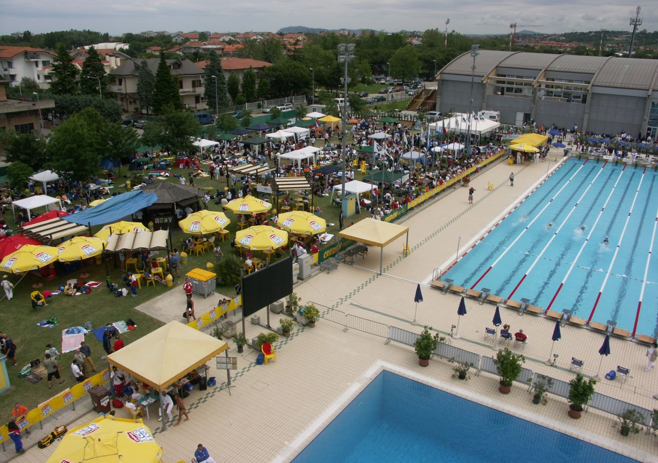 Outdoor Pool and Deck Area in Riccione