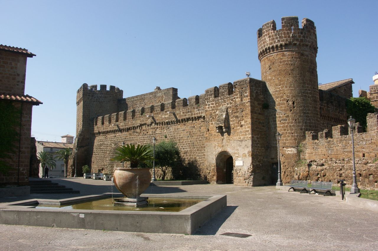 Castle in Ceveteri
