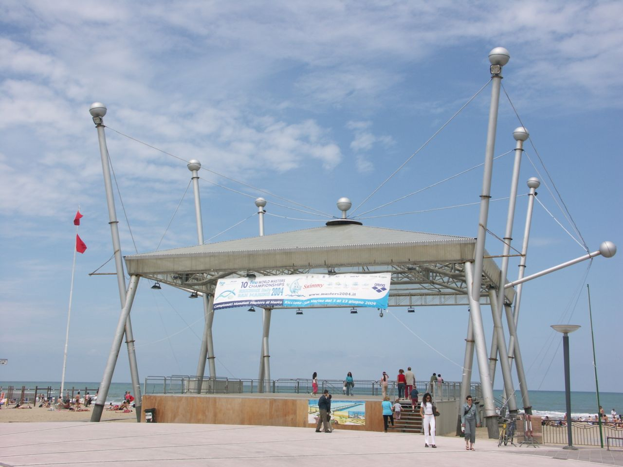 Band Stand in the Center of Riccione
