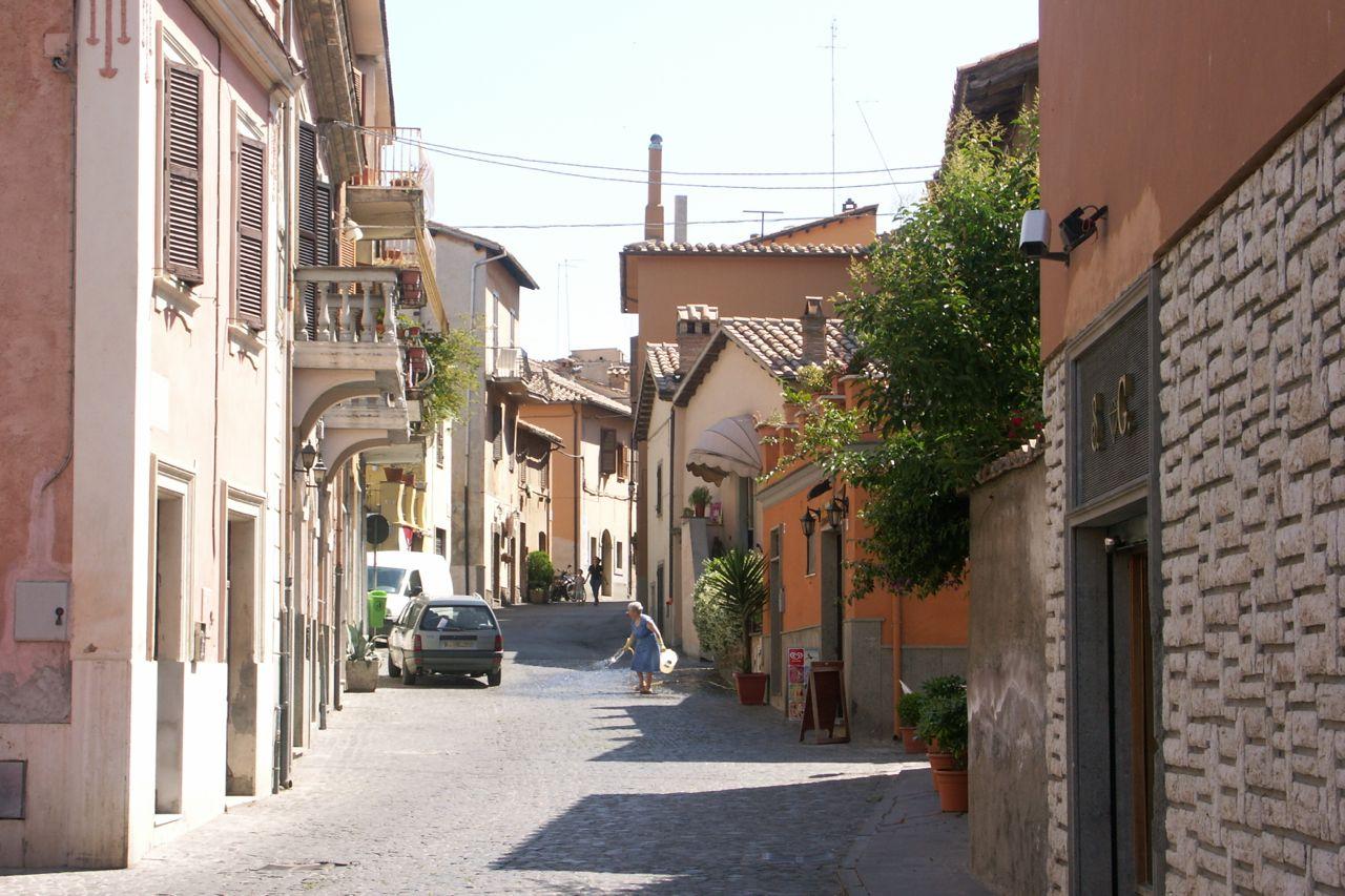 Street in Ceveteri