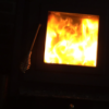 Wood Stove Time Lapse