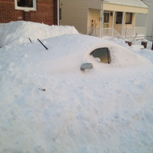 Burried Car