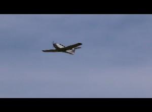 Danbury Plane Taking Off