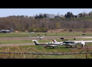 Danbury Taxiing Plane